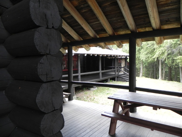 another view of a veranda.