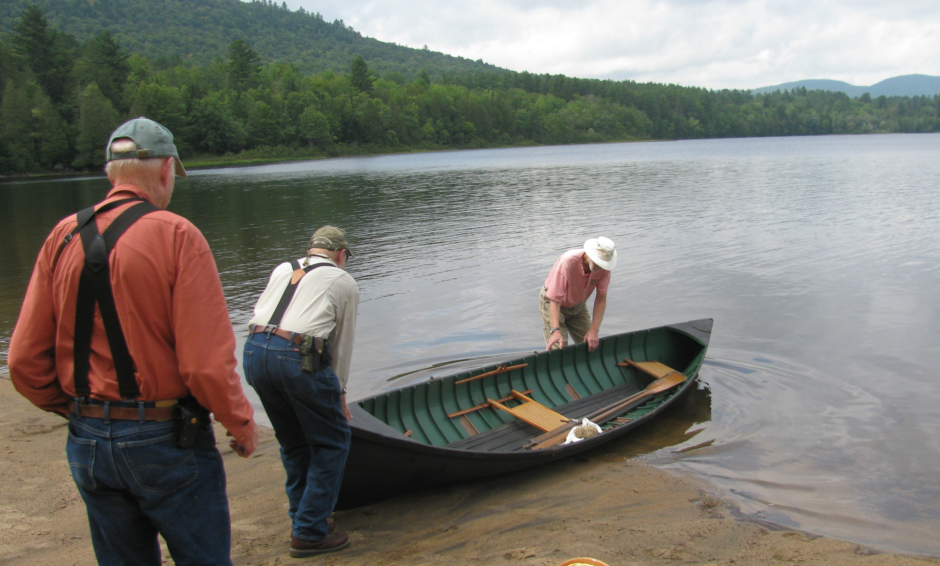 Building a traditional adirondack guideboat for Guide boat