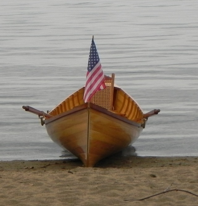 My reproduction of a Chase guideboat used at Great Camp Santanoni.
