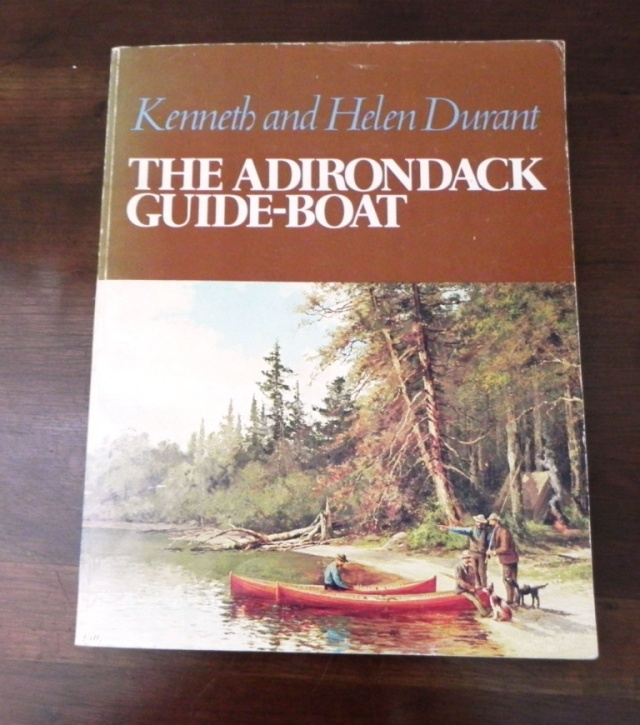 Th Durant's book on the Adirondack guideboat..
