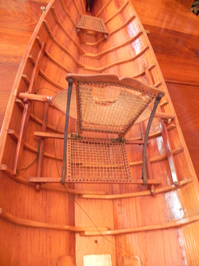 Tom's model-close up of midships.