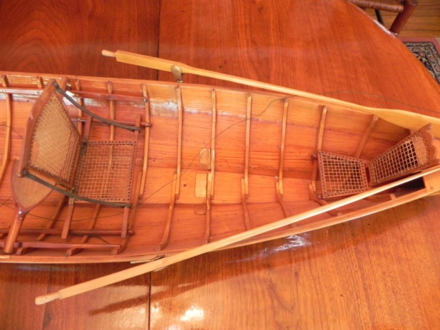 Tom's model-close up of stern.