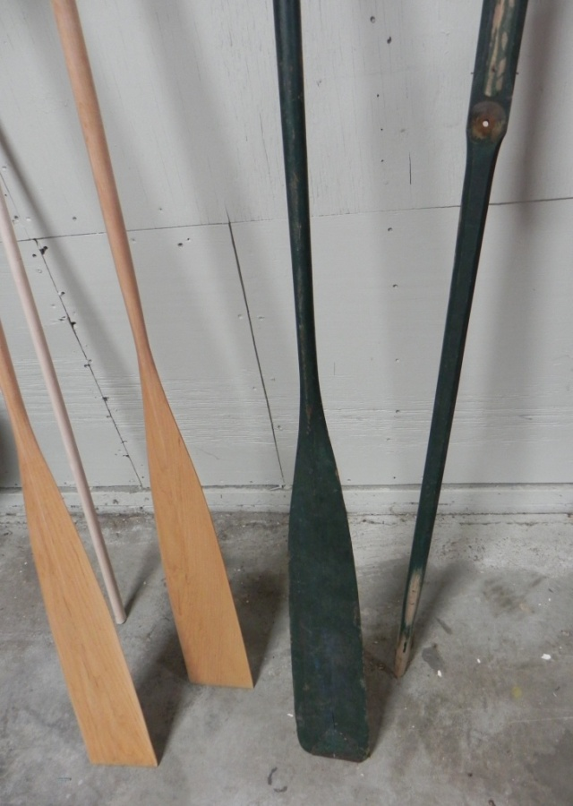 Oars for Grant-built Raider guideboat.