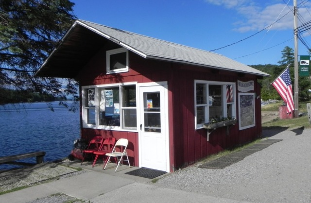Helms Aero Service Office at the Long Lake beach.