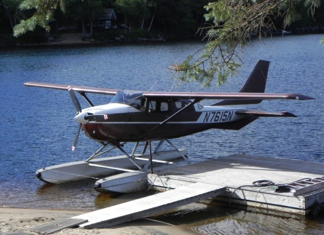 One of the two Helms Aero Service float planes.
