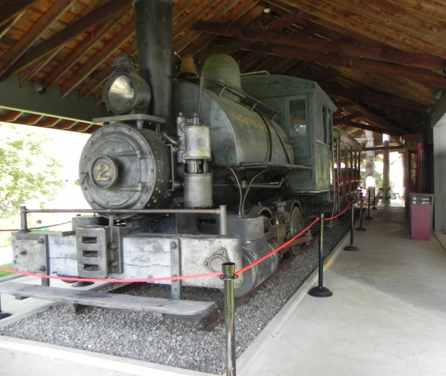 Locomotive used on the Marion River Carry