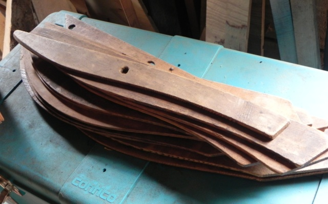 Merlie Austin's rib and stem guideboat patterrns
