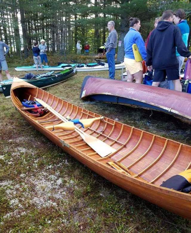 John's boat rigged for the 90 Miler.
